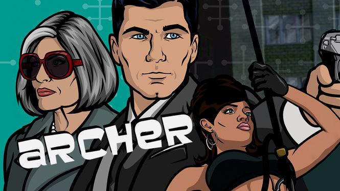 Netflix Sverige Archer 8
