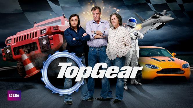 Netflix box art for Top Gear - Series 1