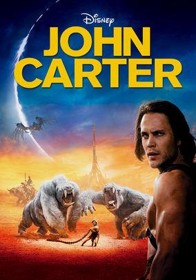 Netflix box art for John Carter