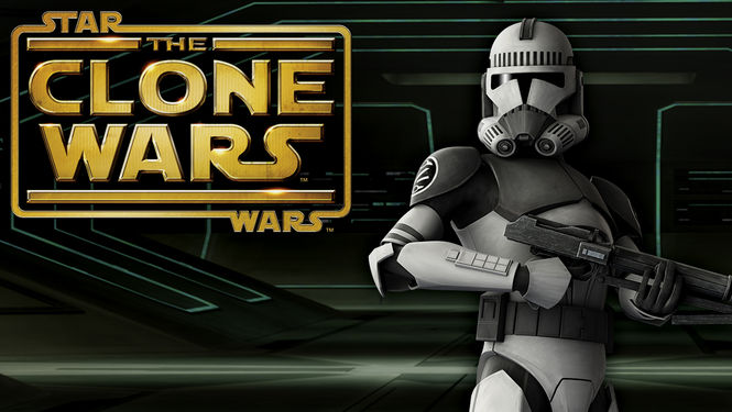 Netflix Box Art for Star Wars: The Clone Wars - Season 4
