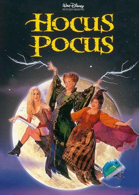 Netflix box art for Hocus Pocus