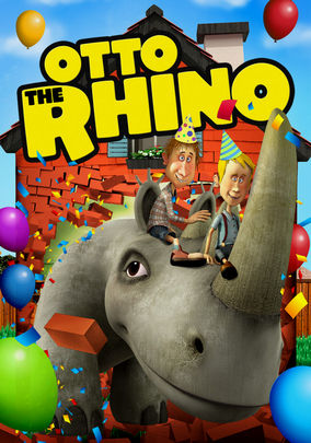 Netflix Box Art for Otto the Rhino