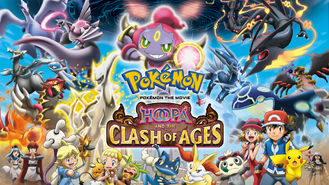Netflix box art for Pokémon the Movie: Hoopa and the Clash...