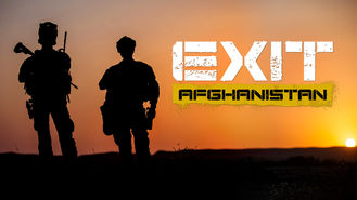Netflix box art for Exit Afghanistan