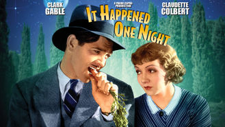 Netflix box art for It Happened One Night