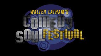 Netflix box art for Walter Latham's Comedy Soul Festival