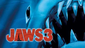 Netflix box art for Jaws 3