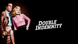 Netflix box art for Double Indemnity
