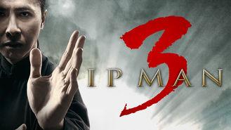 Netflix box art for Ip Man 3