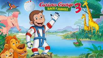 Netflix box art for Curious George 3: Back to the Jungle