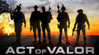 Netflix box art for Act of Valor