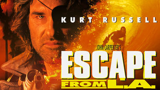 Netflix box art for Escape from L.A.